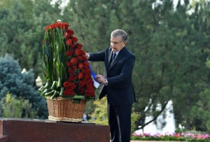 Tribute paid to the memory of the First President of Uzbekistan