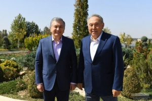 Working meeting of the President of Uzbekistan and the First President of Kazakhstan